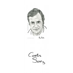 MARCAPAGINAS CARLOS SAINZ (Padre)