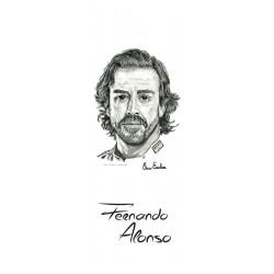 MARCAPAGINAS FERNANDO ALONSO