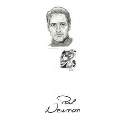MARCAPAGINAS LEMANS Y PAUL NEWMAN