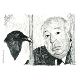 CARBONCILLO ALFRED HITCHCOCK