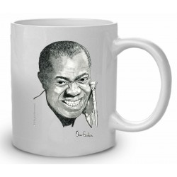 TAZA LOUIS ARMSTRONG