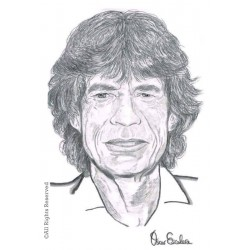 CARBONCILLO MICK JAGGER