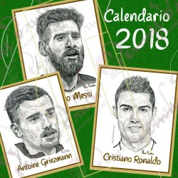 Calendario Pared 2018