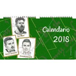 Calendario de mesa 2018