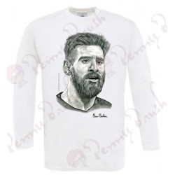 CAMISETA MANGA LARGA LEO MESSI