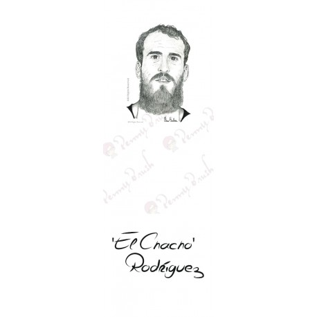MARCAPAGINAS CHACHO RODRIGUEZ