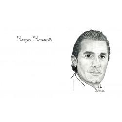 TARJETA POSTCARD SERGIO SCARIOLO