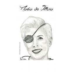 TARJETA POSTCARD MARIA DE VILLOTA