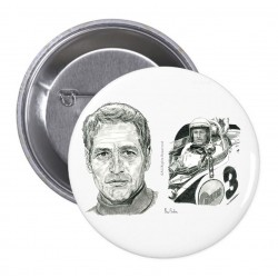 PIN LEMANS Y PAUL NEWMAN