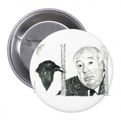 PIN ALFRED HITCHCOCK