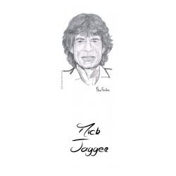 MARCAPAGINAS MICK JAGGER