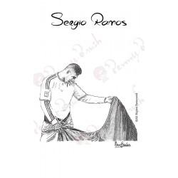 """LAMINA SERGIO RAMOS """"TORERO"""""""